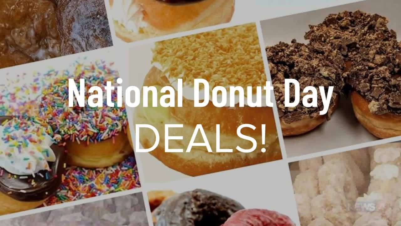 Freebies and deals on National Donut Day