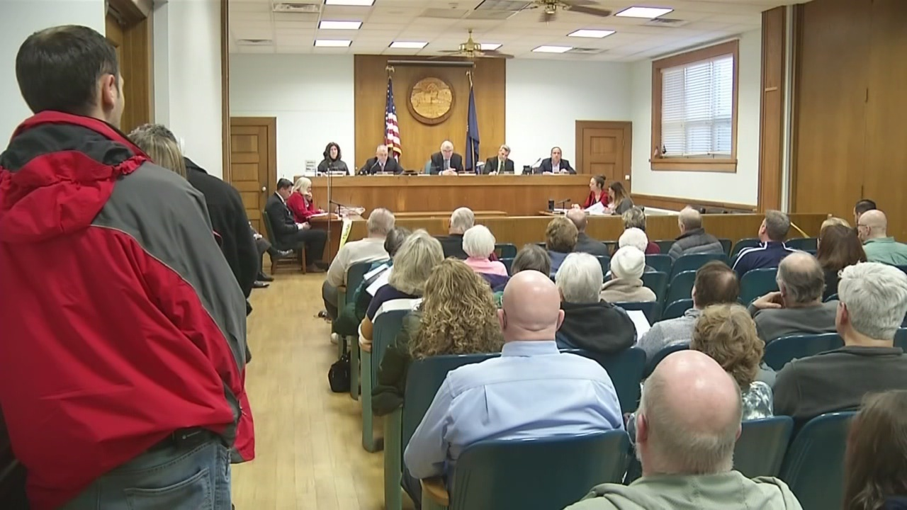 Hamburg Town Board votes 4-1 to accept Capt. Monaco's retirement