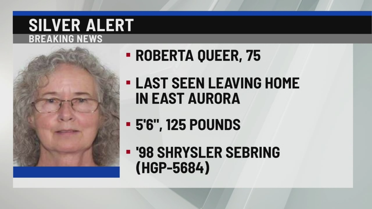 SIlver Alert for East Aurora