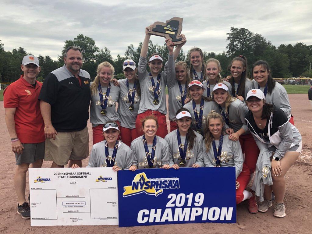Williamsville East Softball Wins State Championship