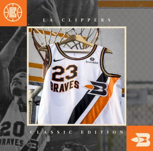 new concept e5a8e 6520e Clippers to honor Buffalo Braves with throwback jersey ...