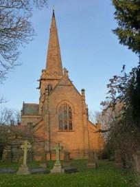 Saint John the Divine, Colston Bassett - south frontage