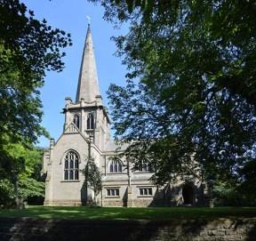 Saint John the Divine, Colston Bassett - west frontage