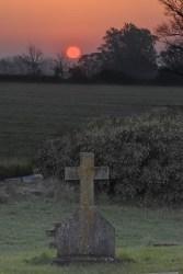 Easter Sunrise 2019 - Sun rising over a cross