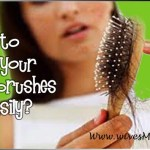 How to clean your hair brushes easily?