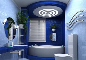 blue-color-bathroom-interior