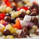Diabetic diet: Corn and black beans salad recipe