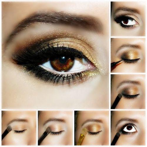 wearing-golden-eye-makeup
