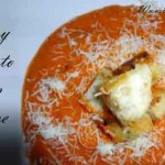 Cheesy tomato soup recipe: Enjoy delicious dinner