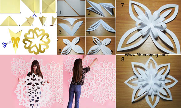 Diy wall art and decor to stylize home walls for Diy paper wall art