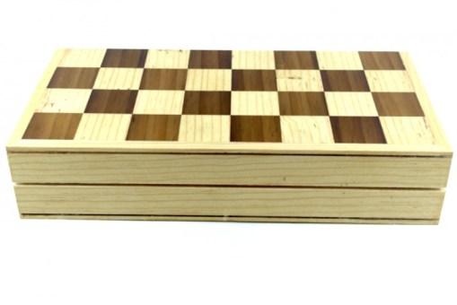 Ajedrez de madera 30 cm # 4 – Wiwi juegos mayoreo
