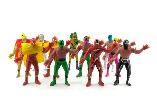 12 Luchadores de la lucha libre mexicana - Wiwi mayoreo