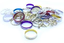 Anillos matrimoniales 100 piezas - fiestas y entretenimiento