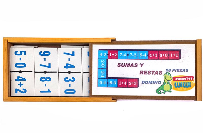 De Juguetes Madera Dominó Infantil Didáctico Juegos Y Didácticos 9YbWEHeD2I