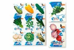 Lotería Didáctica Los Vegetales MG - Wiwi Loterías Mayoreo