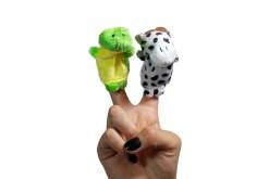 Títeres de dedo 10 piezas- Wiwi Didácticos de mayoreo