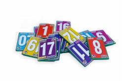 Tarjetas Didácticas de números - Wiwi Didácticos de mayoreo