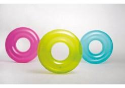 Salvavidas Dona transparente 30 pulgadas flotador Wiwi inflables mayoreo