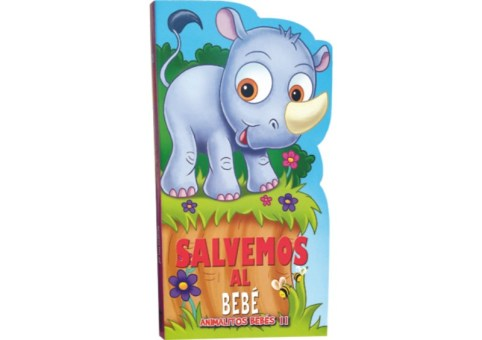 Libros Animalitos bebés II 4 tomos - Wiwi Libros infantiles