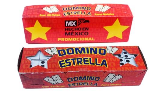 Juego de Domino Estrella - Wiwi juegos de mayoreo