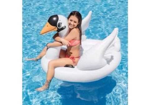Cisne Mega Montable acuático inflable - Wiwi Mayoreo