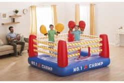 Brincolín Ring de box con guantes - Wiwi Inflables de Mayoreo