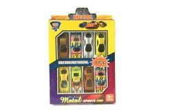 Metal Sports Cars 8 piezas - Wiwi juguetes de mayoreo