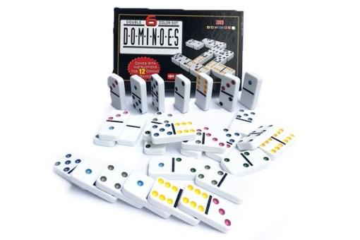 Domino Color Dot doble 6 – Juegos de mayoreo