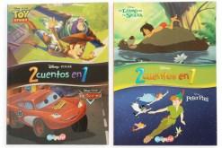 Libros Disney Junior 2 cuentos en 1 - didácticos de mayoreo