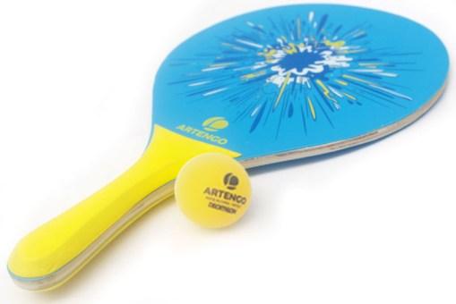 Raquetas de madera para tenis de playa - Juguetes de Mayoreo