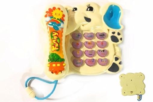 Dumbo Phone Teléfono musical de elefante - juegos y juguetes didácticos
