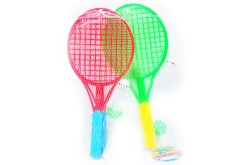 Raquetas chicas de Bádminton de juguete para 2 jugadores