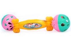 Sonajas de mano de cascabel 2 bolas-juguetes bebés