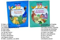 Colección de 4 libros de cuentos infantiles de 16 páginas con 10 cuentos cada libro muy bien ilustrados para que la lectura sea mucho más divertida con unas medidas de 21 x 15 (centímetros) te presentamos los siguientes títulos de colección: Animales increíbles, Animales Fabulosos, Animales asombrosos y Animales divertidos