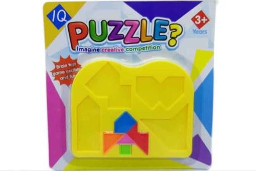 IQ puzzle Así No Va rompecabezas geométrico - juegos didácticos
