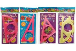 Espirografo geométrico planilla con 20 piezas- Juegos y juguetes