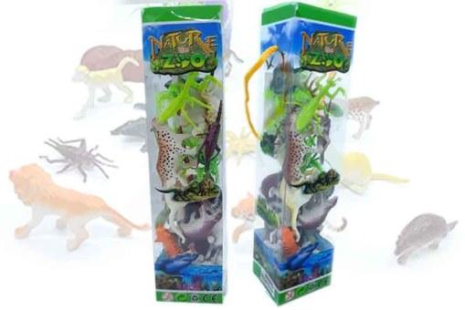 Maqueta de Animales Terrestres en acetato-juegos y juguetes