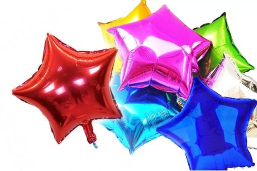 Globos Metálico de Estrella 18 pulgadas - fiestas y entretenimiento