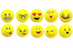 12 pelotas de picos de Emojis 7.5 cm - juegos y juguetes de mayoreo