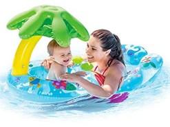 Salvavidas Andadera acuática para bebés Intex 56590
