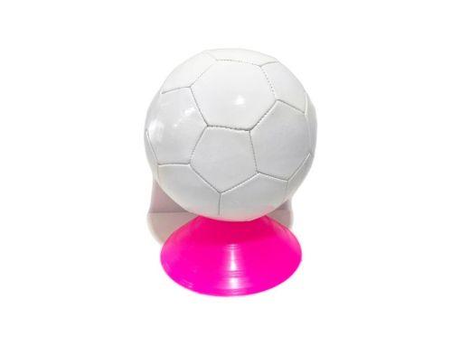 Balones de soccer con cámara inflable hecho de polivinilo color blanco para que imprimas tu logo o promoción son de acción para practicar y entrenar tu deporte favorito disfruta el fútbol con estas bolas miden 22 cm que son alrededor de 8.5 pulgadas de diámetro con 32 paneles