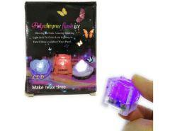 Hielos Mágicos luz LED 2.7 cm -- Caja con 12 Piezas