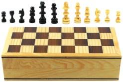 Ajedrez de madera 20 cm # 6 – Wiwi juegos mayoreo