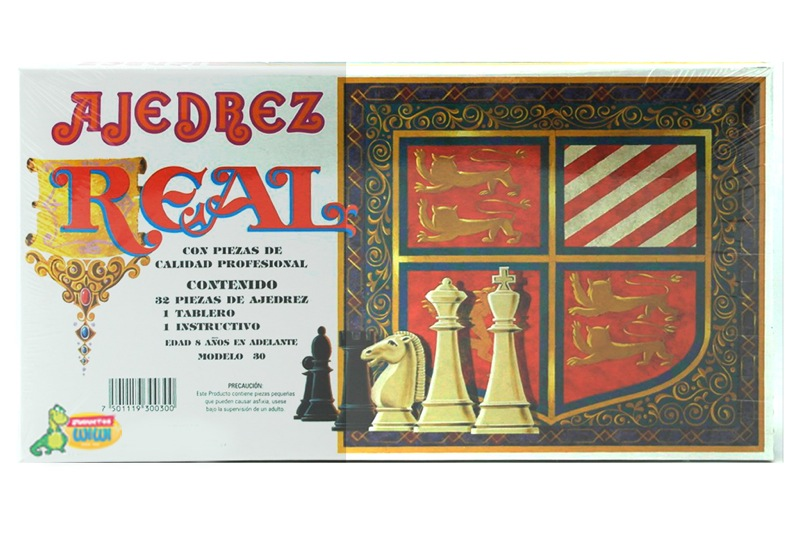 Juego de Ajedrez Real – Wiwi juegos de mayoreo