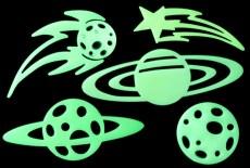 El Cosmos Glow in the dark 10 piezas-Wiwi de mayoreo