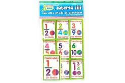 Lotería Didáctica Quebrados y Fracciones - Wiwi Loterías de Mayoreo