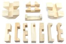 Rompecabezas 3D Cilindro de Madera -Wiwi Juegos de mayoreo