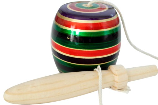 Balero de madera popular artesanal # 3 - Wiwi mayoreo