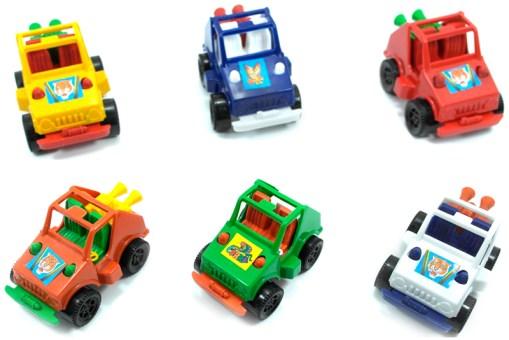 juguetes especiales, Carrito Buggy Arenero 6 piezas - Wiwi Fiestas de mayoreo
