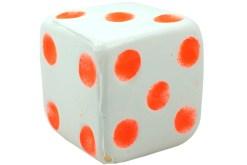 Dados Inflados de 7.5 cm con 12 piezas - Wiwi Juegos de Mayoreo